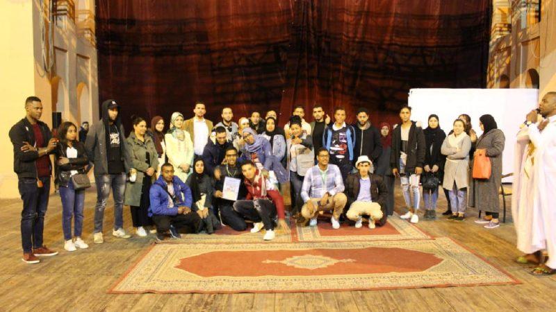العمل الخيري يجمع عدة جمعيات شبابية بمراكش