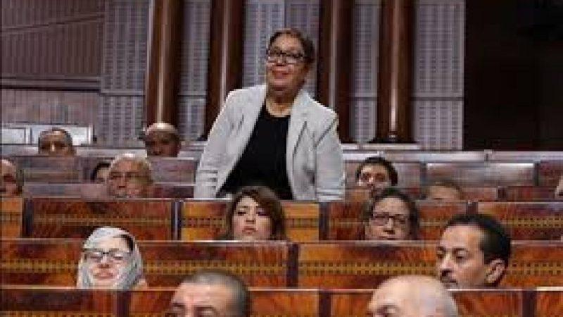 المريني تتساءل بمجلس النواب عن م?ل بطاقة ذوي الاحتياجات الخاصة