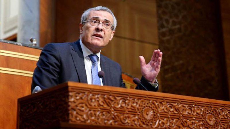وزير العدل: الوزارة مقبلة على التعاقد مع شركة للاتصالات لتجويد صبيب الانترنيت بالمحاكم