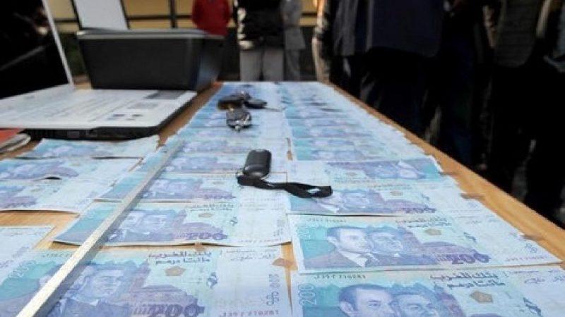 رصد 9575 ورقة نقدية مزورة بالمغرب خلال سنة 2019