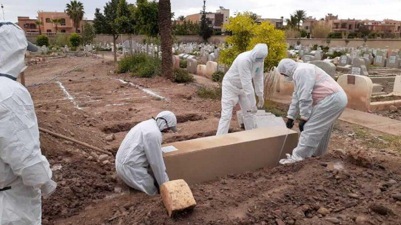 المغرب يسجل أعلى حصيلة يومية في عدد الوفيات بفيروس كورونا