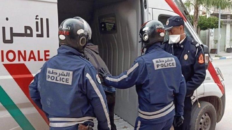 ايقاف شخص يشتبه تورطه في محاولة قتل شرطي