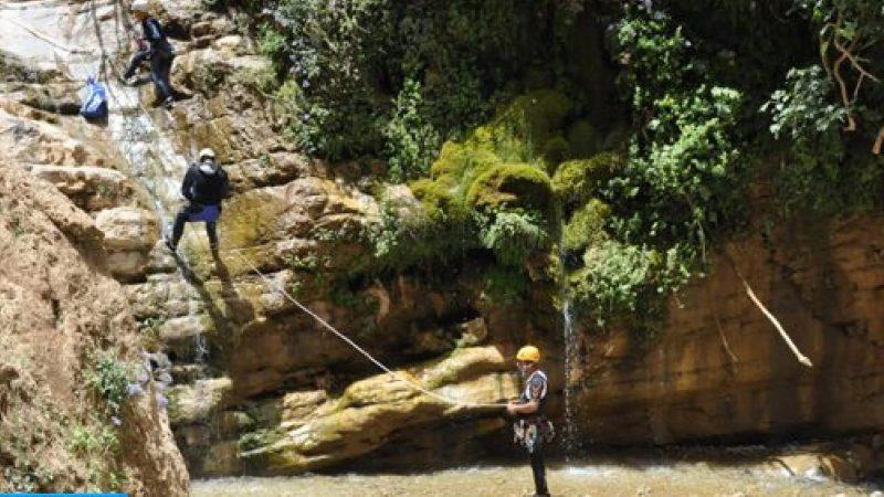 أزيلال: استئناف أنشطة السياحة الجبلية والاستغوار بجبل الكنيسة
