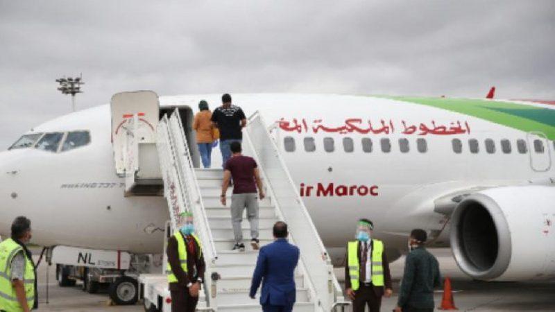تمديد العمل بالرحلات الخاصة للخطوط الملكية المغربية إلى غاية 10 شتنبر المقبل
