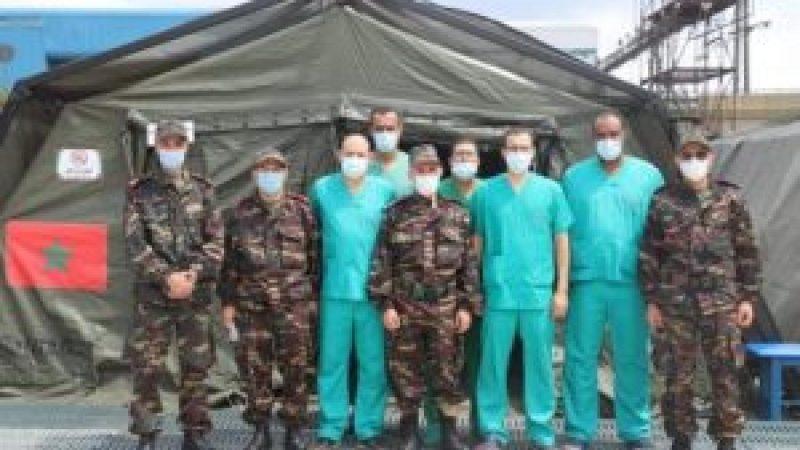 المستشفى العسكري الميداني المغربي ببيروت يقدم أزيد من 3000 خدمة طبية