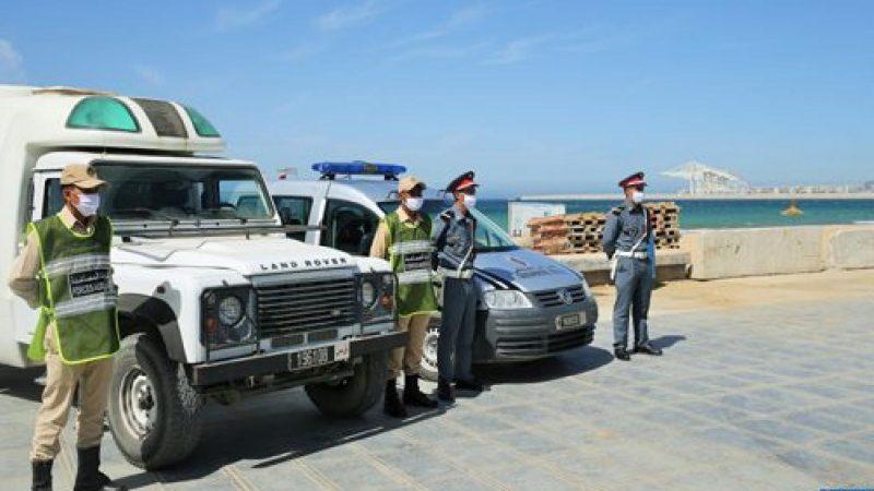 بسبب كورونا .. إغلاق الشواطئ التابعة لإقليم الفحص أنجرة