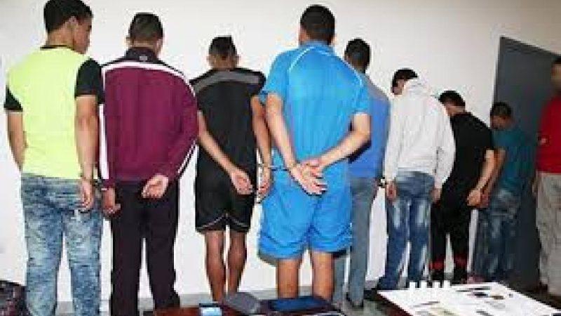 تفكيك شبكة إجرامية تضم 12 فردا من ضمنهم قاصرين