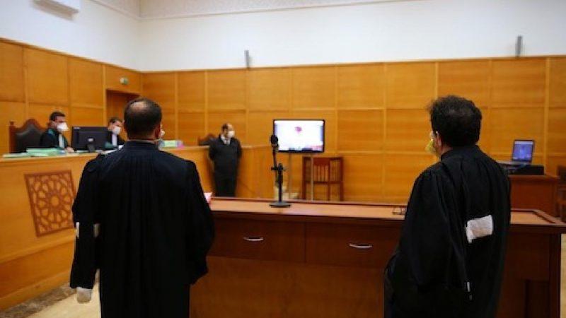 عقد 5572 جلسة محاكمة عن بعد بالمغرب خلال أربعة أشهر