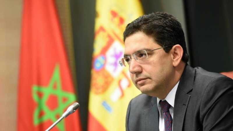 ناصر بوريطة يتباحث مع نظيرته الاسبانية قضايا مهمة
