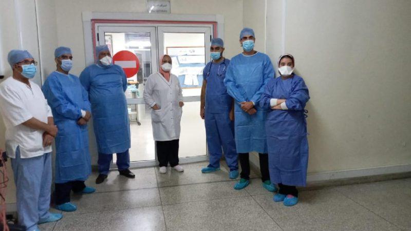 فريق طبي ينجح في إجراء عملية قيصرية عبر تقنية جراحة عنق الرحم