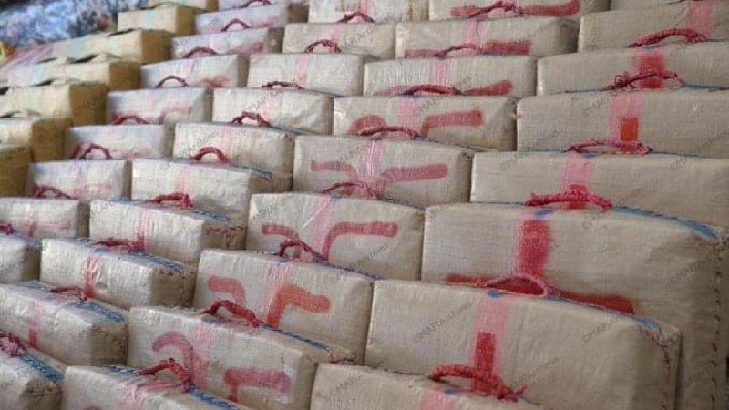 حجز 3 أطنان و700 كلغ من مخدر الشيرا داخل ضيعة فلاحية ب