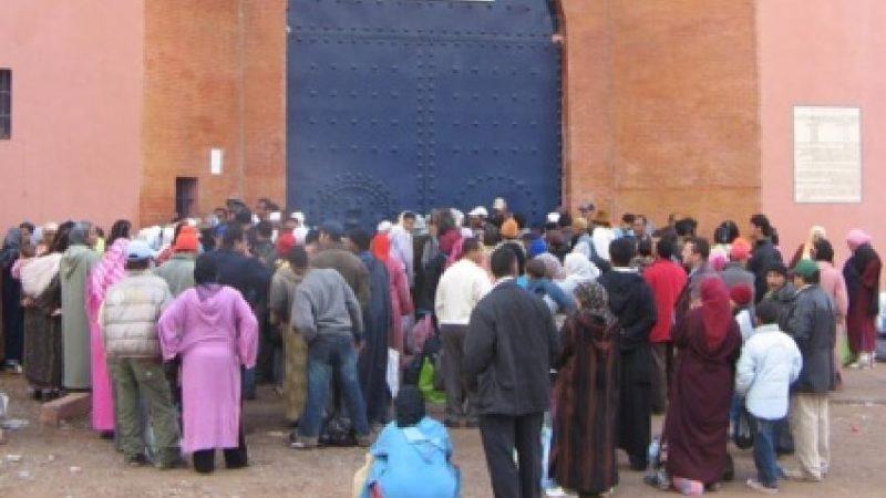 منع الزيارات العائلية بجميع المؤسسات السجنية في المغرب