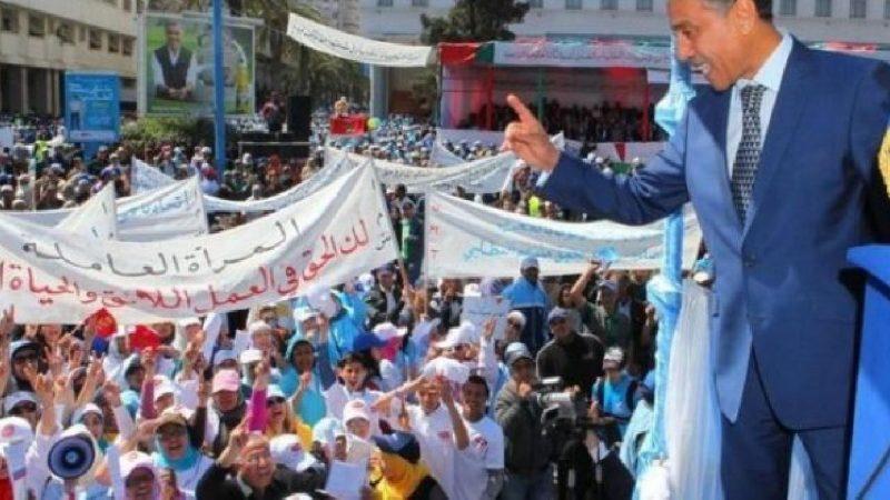 الإتحاد المغربي للشغل يتهم الحكومة باستغلال جائحة كورونا لتمرير قانون تكبيلي وتراجعي لحق الإضراب