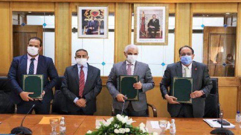 توقيع اتفاقية شراكة بين القطاعين العمومي والخاص لتطوير القطاع الصحي