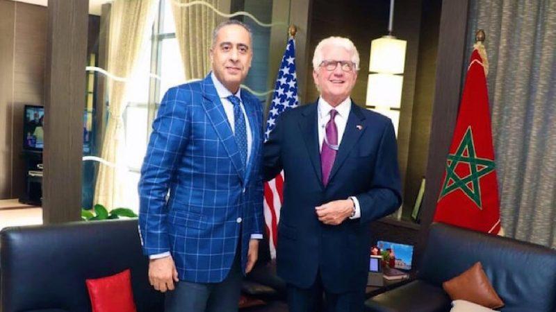 الإرهاب والتطرف العنيف والجريمة المنظمة ضمن مباحثات الحموشي مع سفير أمريكا بالمغرب