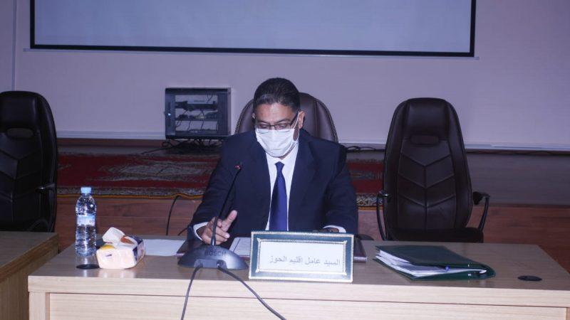 عامل إقليم الحوز يدعو إلى دعم مشاريع الشباب
