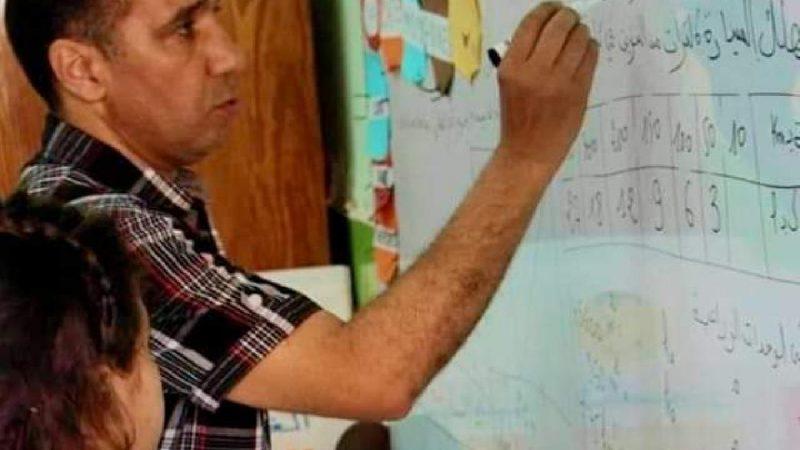 محمد شكيب الشكيح يقضي بنوبة مفاجئة داخل الفصل امام تلامذته