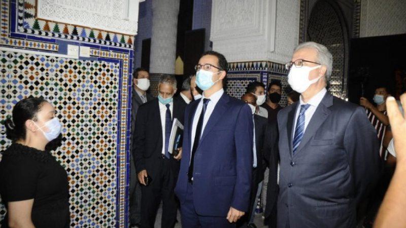 الفردوس وقسي لحلو في حفل افتتاح معرض فني بمتحف دار الباشا