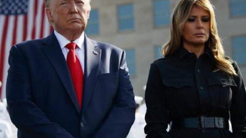 إصابة الرئيس الأمريكي دونالد ترامب وزوجته بفيروس كورونا