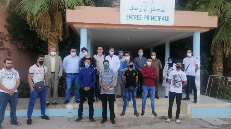 المجتمع المدني بالحوز يطلع على أهم خدمات مستشفى محمد السادس