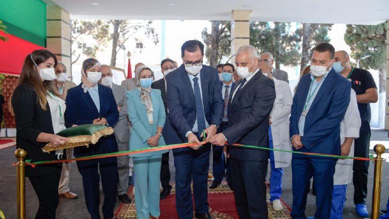 وزير الصحة يعطي انطلاقة العمل بمصلحة المستعجلات الجديدة بالمركز الاستشفائي الإقليمي بتطوان