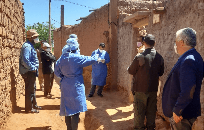 توزيع الإصابات الجديدة بكورونا حسب الجماعات بالحوز
