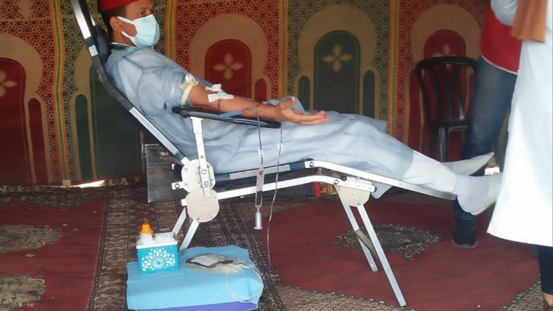 مسؤولون وشخصيات بارزة يتقدمون حملة كبرى للتبرع بالدم بتحناوت لإنقاذ أرواح المغاربة