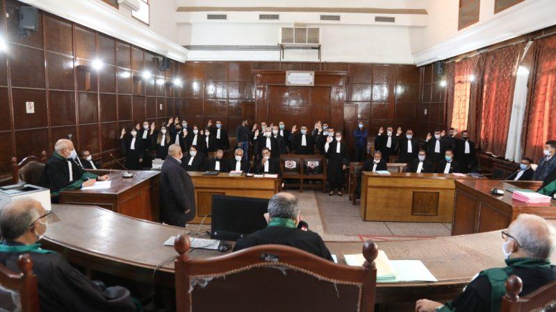 الفوج الثالث للمحامون المتمرنون يؤدون اليمين القانوني بمحكمة الاستئناف بمراكش