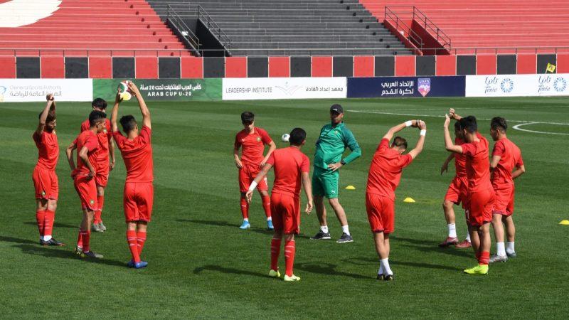 المنتخب الوطني المغربي للاعبين المحليين يخوض تجمعا إعداديا