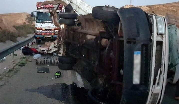 خمسة قتلى في حادثة سير بين مراكش وأكادير