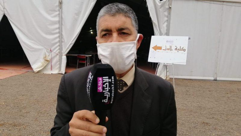 عبدالرحيم بنعلي يقف على اٍجراءات تدبير الامتحانات الجامعية بمركز تحناوت