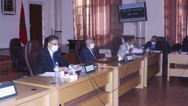 بنشيخي يوصي بتسريع وثيرة انجاز المشاريع بإقليم الحوز