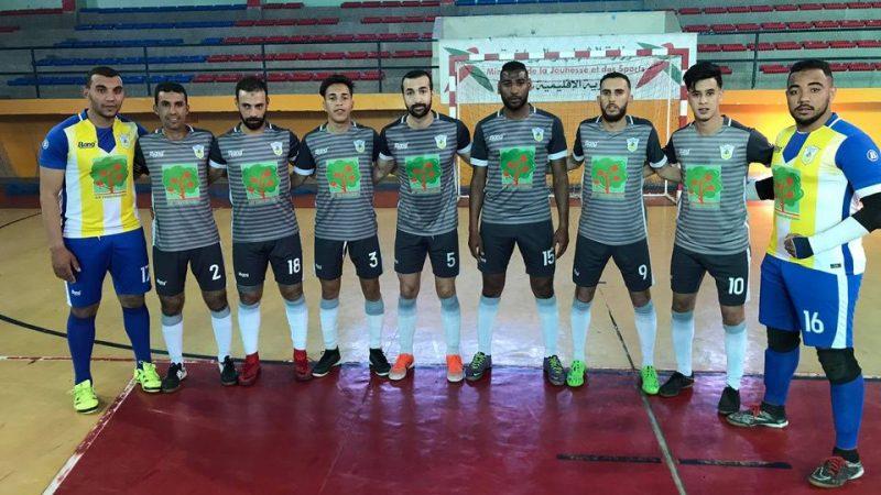 نادي النصر المراكشي للفوتسال يندحر إلى بطولة العصبة