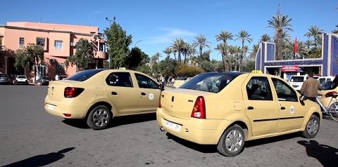 أزيد من 10 آلاف أسرة بمدينة مراكش يعيلها قطاع سيارات الأجرة