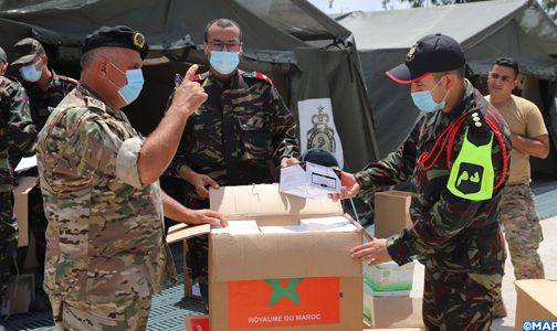 المستشفى العسكري الميداني المغربي ببيروت..تقديم أزيد من 51 الف خدمة طبية