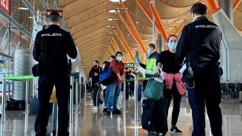 اٍسبانيا تفرض على المسافرين القادمين إليها إجراءات جديدة ابتداء من الأسبوع المقبل