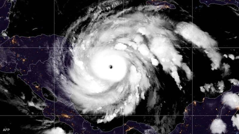 أيوتا.. الإعصار المدمّر يبدأ باجتياح نيكاراغوا
