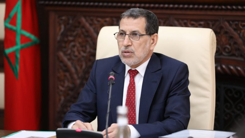 سعد الدين العثماني يدعو مقاولات القطاع العام والخاص إلى اعتماد نمط العمل عن بعد