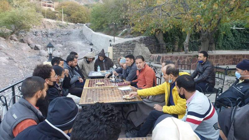 لقاء في اٍمليل يناقش استفادة المرشدين السياحيين غير الأجراء من دعم كورونا