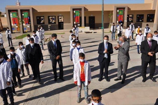 تدشين مؤسسات تعليمية مشيدة بشيشاوة
