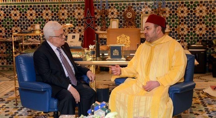 الملك محمد السادس يؤكد على قوة ومتانة علاقات الصداقة والتعاون وروابط التقدير المتبادل بين فلسطين والمغرب
