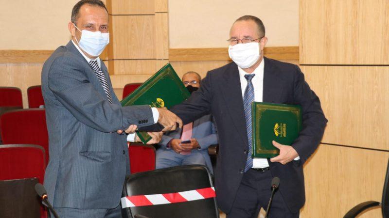 توقيع اتفاقية شراكة بين جامعة القاضي عياض ومؤسسة علي الشريف بمراكش
