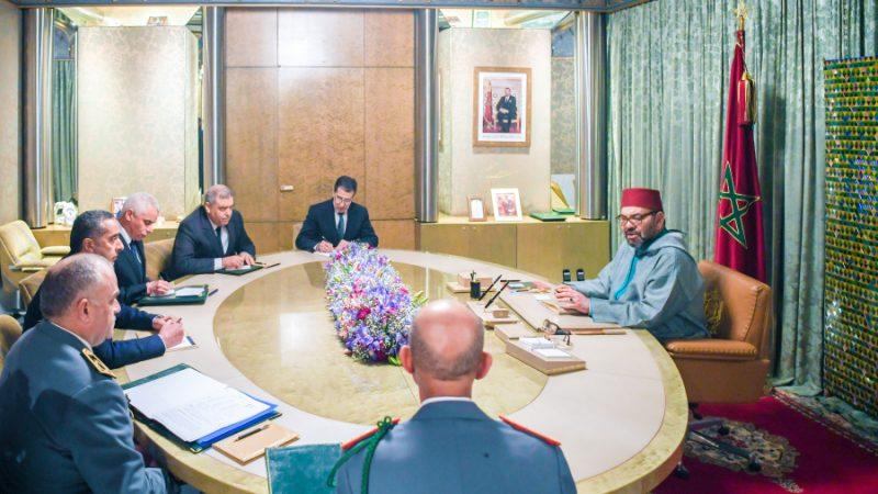 الملك محمد السادس يترأس جلسة عمل خصصت لإستراتيجية التلقيح ضد كورونا