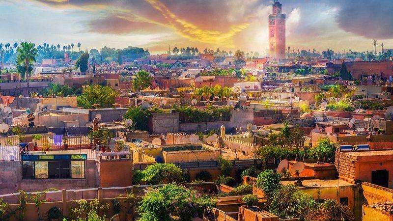 اختيار مراكش ضمن أجمل 50 مكانا في العالم لسنة 2020
