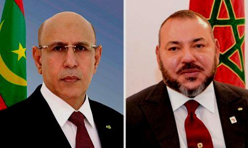 اتصال هاتفي بين جلالة الملك والرئيس الموريتاني لبّيا رسمياً دعوة بعضهما لزيارة الرباط ونواكشط.. والموعد سيحدد