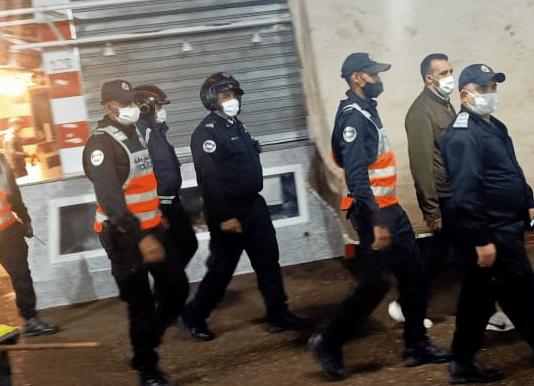 حملة أمنية تواجه مروجي المخدرات و مخالفي حالة الطوارئ الصحية بالداوديات