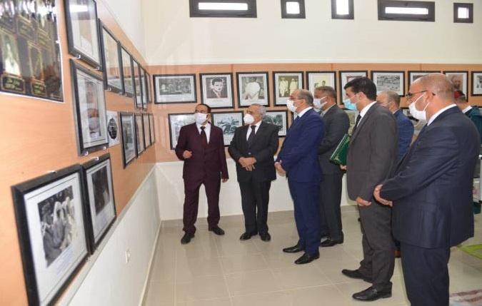 تدشين فضاء الذاكرة التاريخية للمقاومة والتحرير بمدينة اليوسفية
