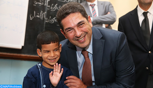 أية آفاق لزيارة وزير التربية الوطنية لجهة مراكش