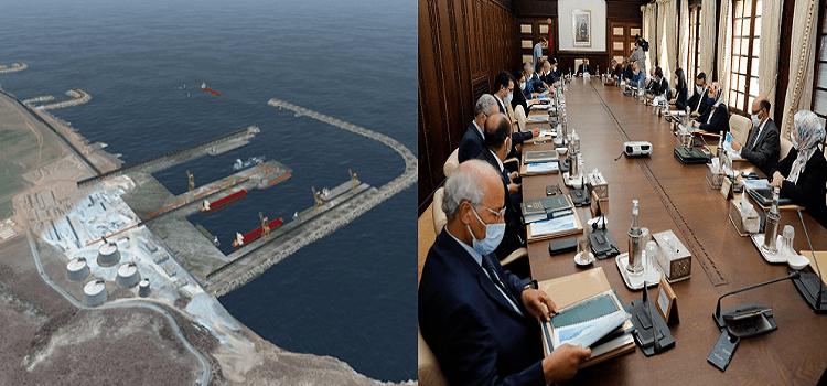 تغيير مرسوم متعلق بإنجاز الميناء الجديد بأسفي فوق طاولة مجلس الحكومة