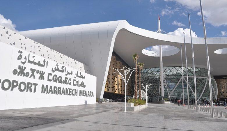 انخفاض حركة نقل المسافرين عبر مطار مراكش المنارة